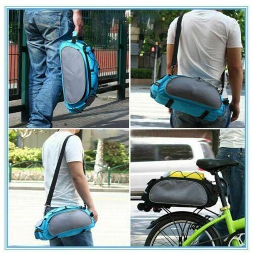Bike Seat Back Bag Waterproof Luggage Carrier schulterrad Backpacks R8J0