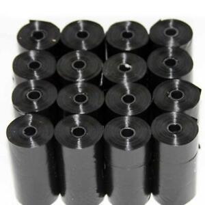 20-Roll-Black-Pet-Poop-Bags-Dog-Cat-Waste-Pick-Up-Clean-Bag-a-Roll-of-20-Ba-N-S7