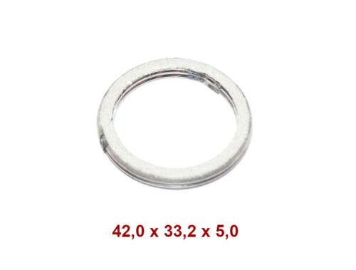 TMP Joint de pot d/'échappement collecteur 42,0x33,2x5 HONDA FES MB MBX MCX MTX