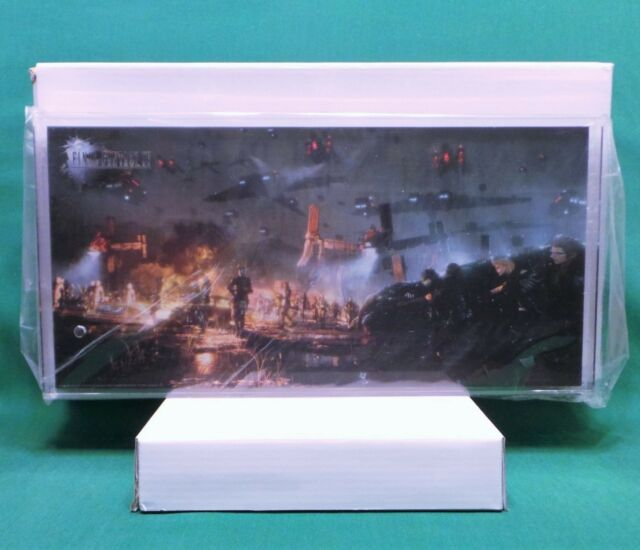Final Fantasy XV 15 Acrylic Art Print Plaque & Base Square Enix Members Reward