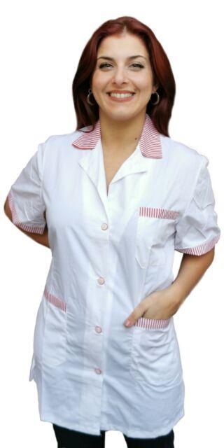 Petersabitidalavoro Camici da Lavoro Donna Imprese di Pulizia Operaia Domestica Cameriera AI Piani