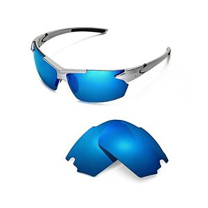e3fee21f88 Image is loading New-Walleva-Ice-Blue-Polarized-Replacement-Lenses-For-