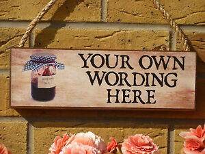 PERSONALISED-SHED-SIGN-KITCHEN-SIGN-HOMEMADE-JAM-JARS-YOUR-OWN-NAME-OWN-WORDING
