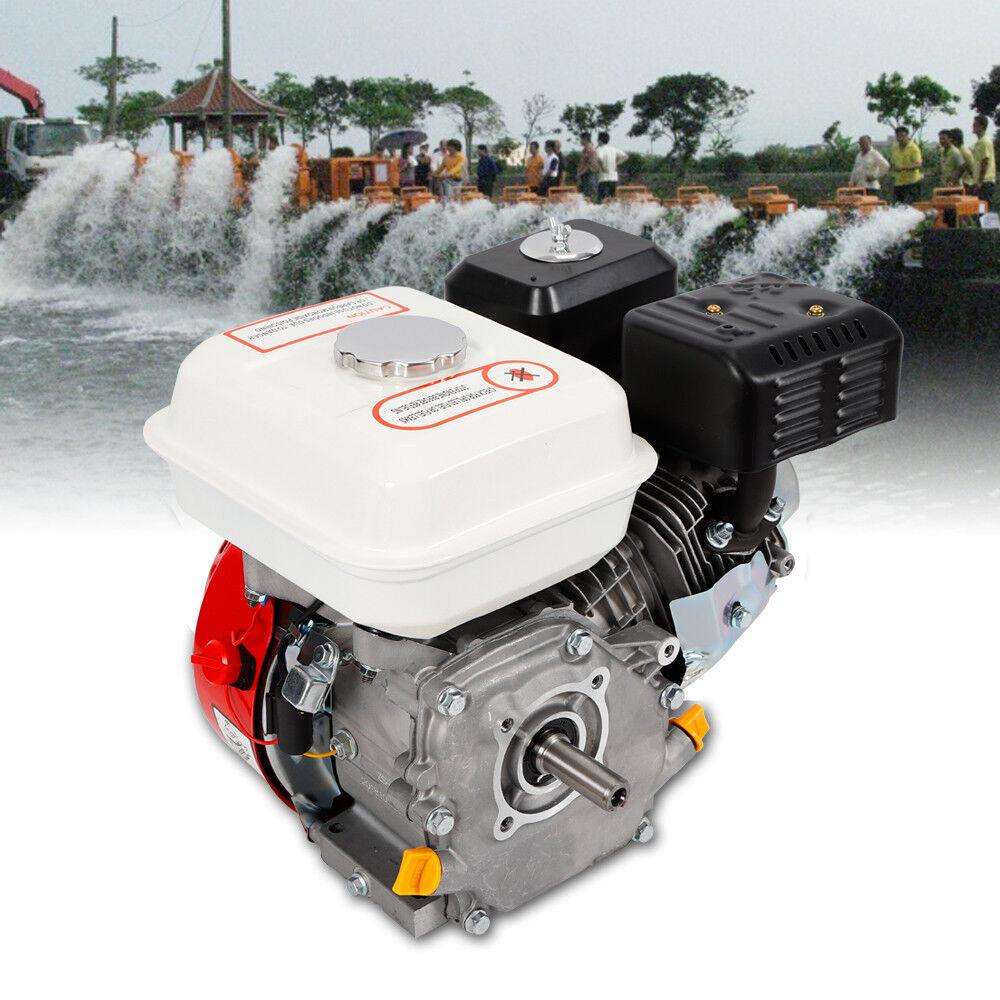7.5HP 4 Stroke Petrol Engine Gasoline Recoil Start Generator Motor 20mm Keyway