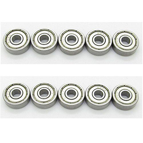 60x 681ZZ 1x3x1mm Mini Miniature Micro Ball Bearings Shield bearing Replacement