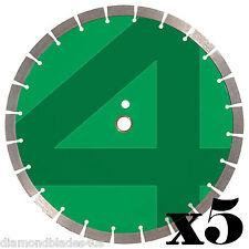 5 14 Diamond Saw Blade 4 Concrete Brick Block Stone Rock Masonry 15mm