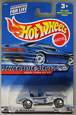 Hot Wheels 1:64 Scale 1999 Speed Blaster Series SHELBY COBRA 427 S/C