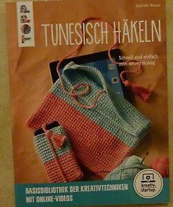 Topp 8195 Buch Tunesisch Häkeln Basisbibliothek Handarbeiten Mit