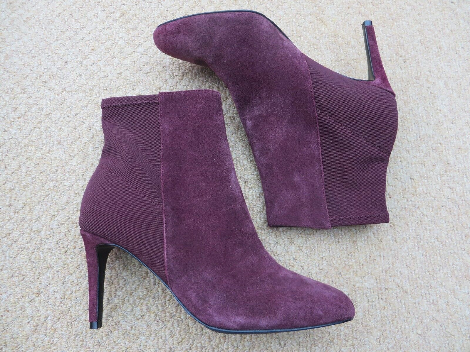 Brand New Boden Fab Suede Ankle Stiefel + Free Tote Bag    Größe UK 8 / 42