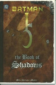 Batman The Book Of Shadows - Dc 1999 ( Comics Usa ) Sensation Confortable