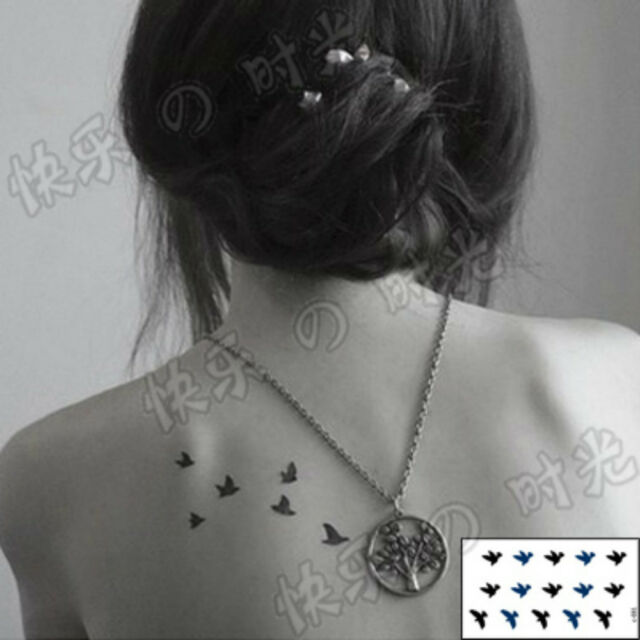 60 Romantic Design Temporary Tattoo Paper Sticker Waterproof Body Art 1 PC