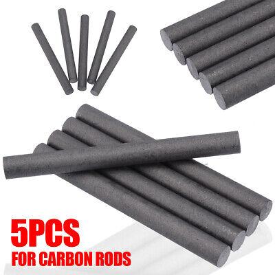 5Pcs 99.99/% Graphite Electrode Cylinder Rod Black Length 100mm Diameter 10mm