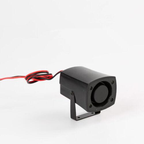 12V//24V 110db Alarm Car Motor Security Alarm System Home Security Siren Horn