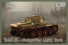IBG 1/72 TOLDI III ungherese Light Tank # 72030
