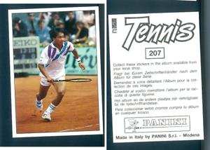 Michael-Chang-USA-Tennis-1992-Edizioni-Panini-MINT-n-207-Roland-Garros