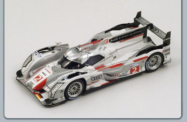 Audi r18   2 2nd Le Mans 2012 Hair-Kristensen-MC nish 1 43 spark s3701  100% garantie d'ajustement