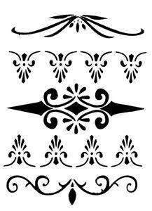 Wandschablonen Ausdrucken Muster Form Marokkanisch