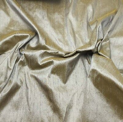 "Hand Dyed Silk DUPIONI Fabric PEACH fat 1//4 18/""x27/"" remnant"