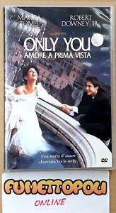 ONLY YOU Amore a prima vista DVD Tristar Fuori Catalogo M. TOMEI OTTIMO SC1 - Italia - ONLY YOU Amore a prima vista DVD Tristar Fuori Catalogo M. TOMEI OTTIMO SC1 - Italia
