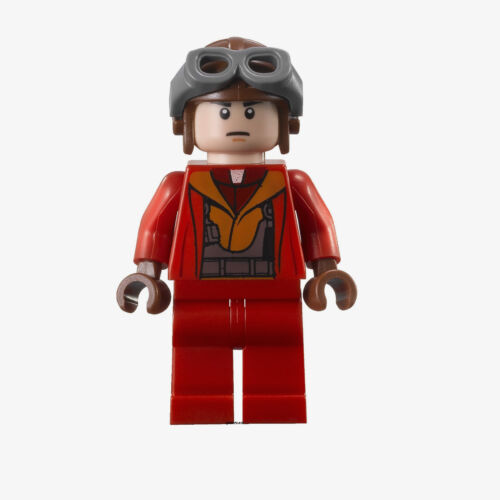 LEGO Star Wars Naboo Fighter Pilot 7877 9674 Minifigure NEW