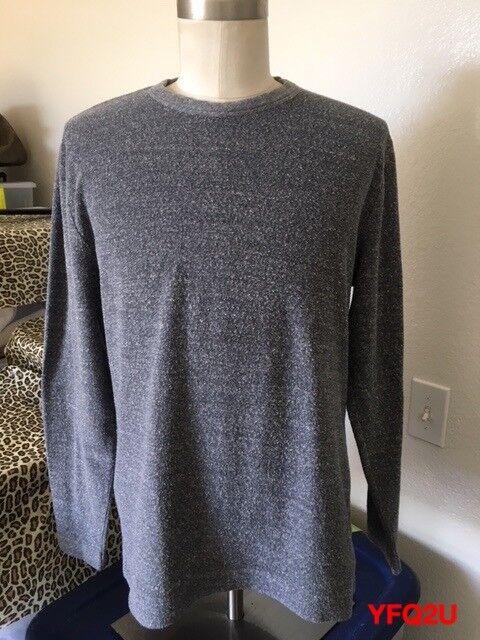 OUR LEGACY Splash Long Sleeve Tee Loop Light Sweat Shirt SWEATSHIRT Sz 50/Lg