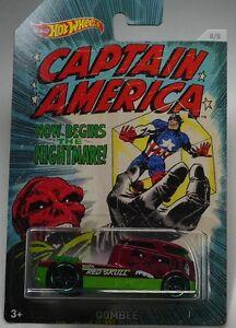 Captain-America-1-64-Qombee-Die-Cast-Hot-Wheels-Car-Red-Skull