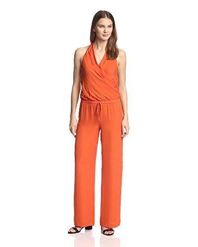 Haute Hippie Halter Drawstring Silk Jumpsuit   585.00 Size XS