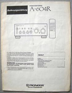 PIONEER-A-604R-Bedienungsanleitung