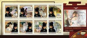 Stamps Frank Paintings Of Berthe Morisot Painting M/s Guinea 2009 Mi 6863-6870 Mnh #gu0987a More Discounts Surprises