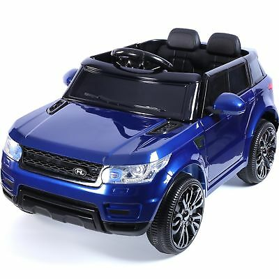 12V Mini HSE Style Children's Single Seat Ride On Jeep - Blue