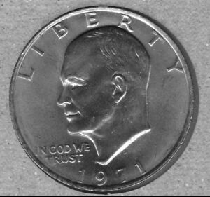 1971-D-UNCIRCULATED-EISENHOWER-IKE-DOLLAR-SOME-SPOTS-AND-OR-TONING