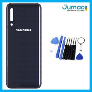Vitre-arriere-capot-cache-batterie-Noir-avec-Adhesif-Pour-Samsung-Galaxy-A50