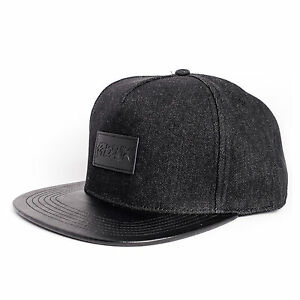 Phoenix-Denim-Beast-Vol-II-Snapback-Cap-Black-Fashion-Hat-Kappe-Muetze-New-Jeans