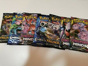 POKEMON-TCG-UNIFIED-MINDS-SUN-amp-MOON-Booster-Packs-7