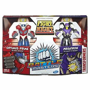 Transformers-Battle-Master-Optimus-Prime-Megatron-Fight-Robot-Ages-5-Hasbro-Toy
