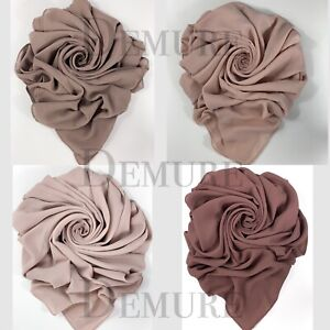 Hijab-Scarf-Chiffon-Elegant-High-Quality-Sarong-Shawl-Wrap-Plain-Maxi