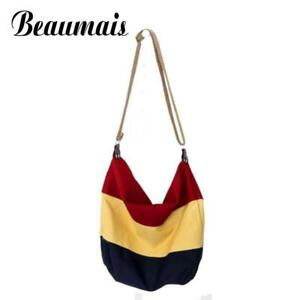 4a7608d1a55 Beaumais canvas bag Women messenger bags fashion school women ...