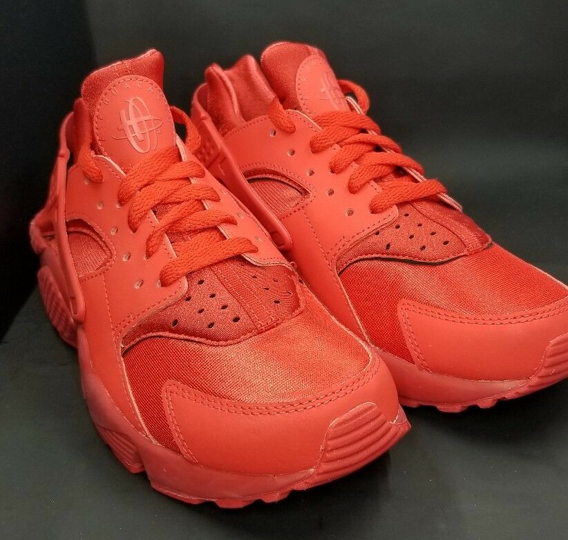 NIKE AIR HUARACHE ID RED OCTOBER SIZE 6.5 777330-997
