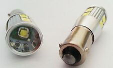 H21W BAY9s WHITE SMD + CREE LED CAN OBC ERROR FREE NEW bulbs