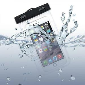 WATERPROOF-CELL-PHONE-CASE-UNDERWATER-BAG-COVER-POUCH-TRANSPARENT-TOUCH-SCREEN