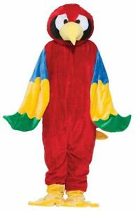Forum Novelties 195709 Parrot Plush Economy Mascot Adult Costume
