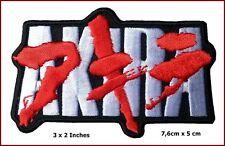 "iron on Akira Embroidered Japanese Anime Emo punk Scifi Iron on 3*2"" Patch"