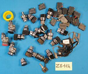 Lot de composant Schneider Telemecanique bouton tête contact ZBE 101 102 ( ZE114
