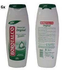 6x BOROTALCO - Idratante Bagno di Talco Schaumbad foam bath Badeschaum 500ml