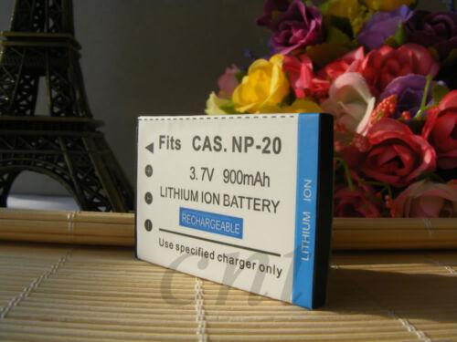 Batería encaja para NP-20 NP20 NP 20 CASIO Exilim Ex-Z75 EX-Z60 Ex-Z70 M1 M2 S1