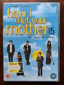 How I Met Votre Mère Saison 5 DVD Coffret États-unis TV Comédie Série