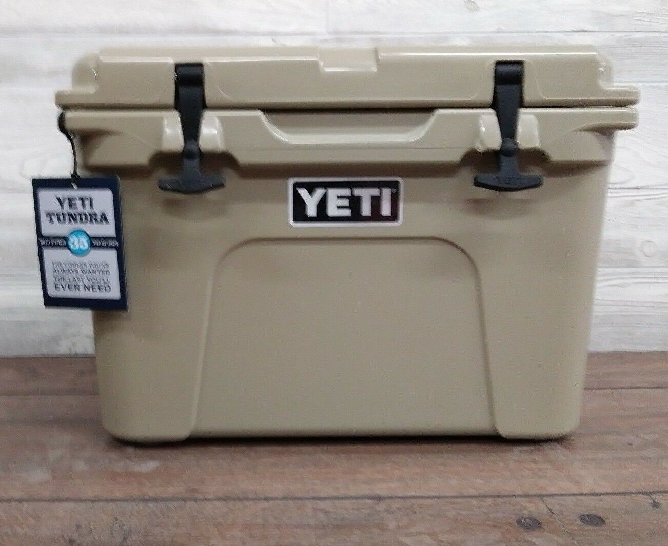 YETI 35 QT. Tundra  COOLER - TAN  -  Factory sealed