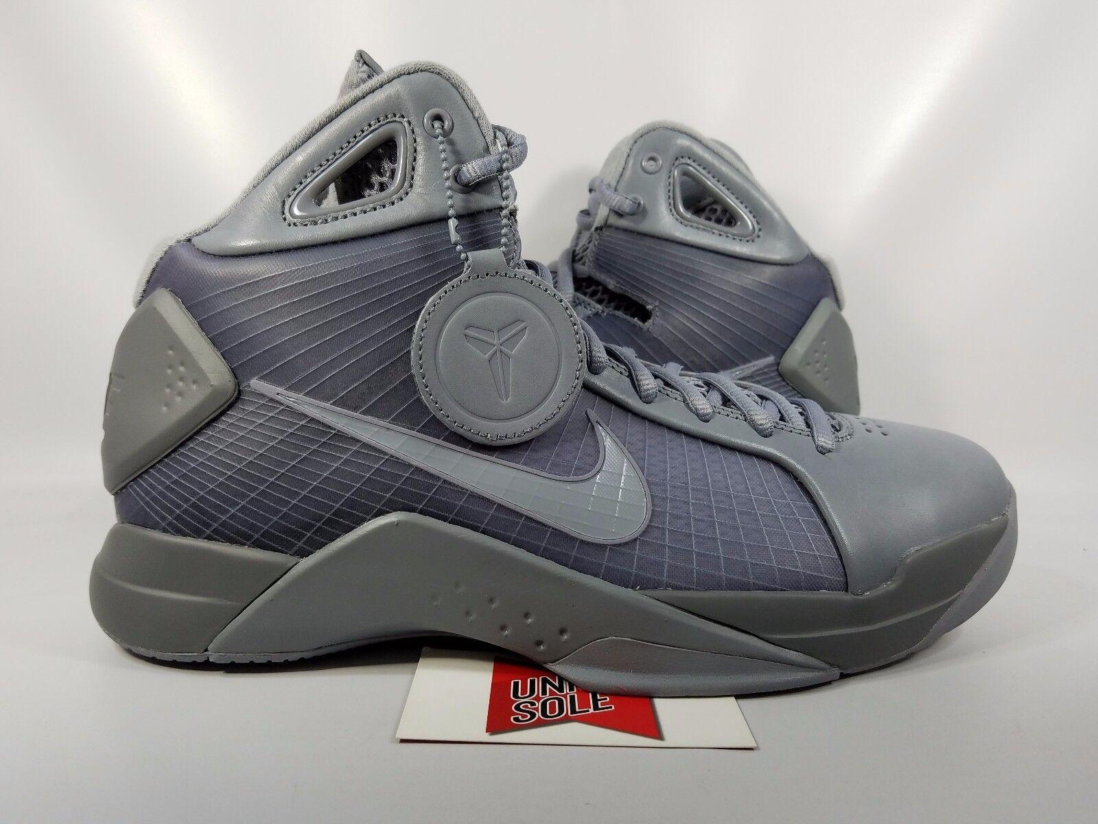 Nike Hyperdunk FTB '08 FTB Hyperdunk FADE TO BLACK PACK MAMBA STEALTH GREY 869611-001 sz 10 cc6c87