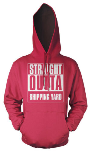 Gaming Straight Outta Shipping Yard PC X-Box Playstation Kids Hoodie