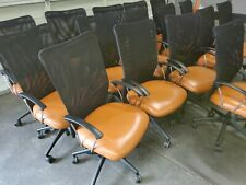16 Allseating Inertia Knit Mesh Executive Officeconference Enviroleather Chairs